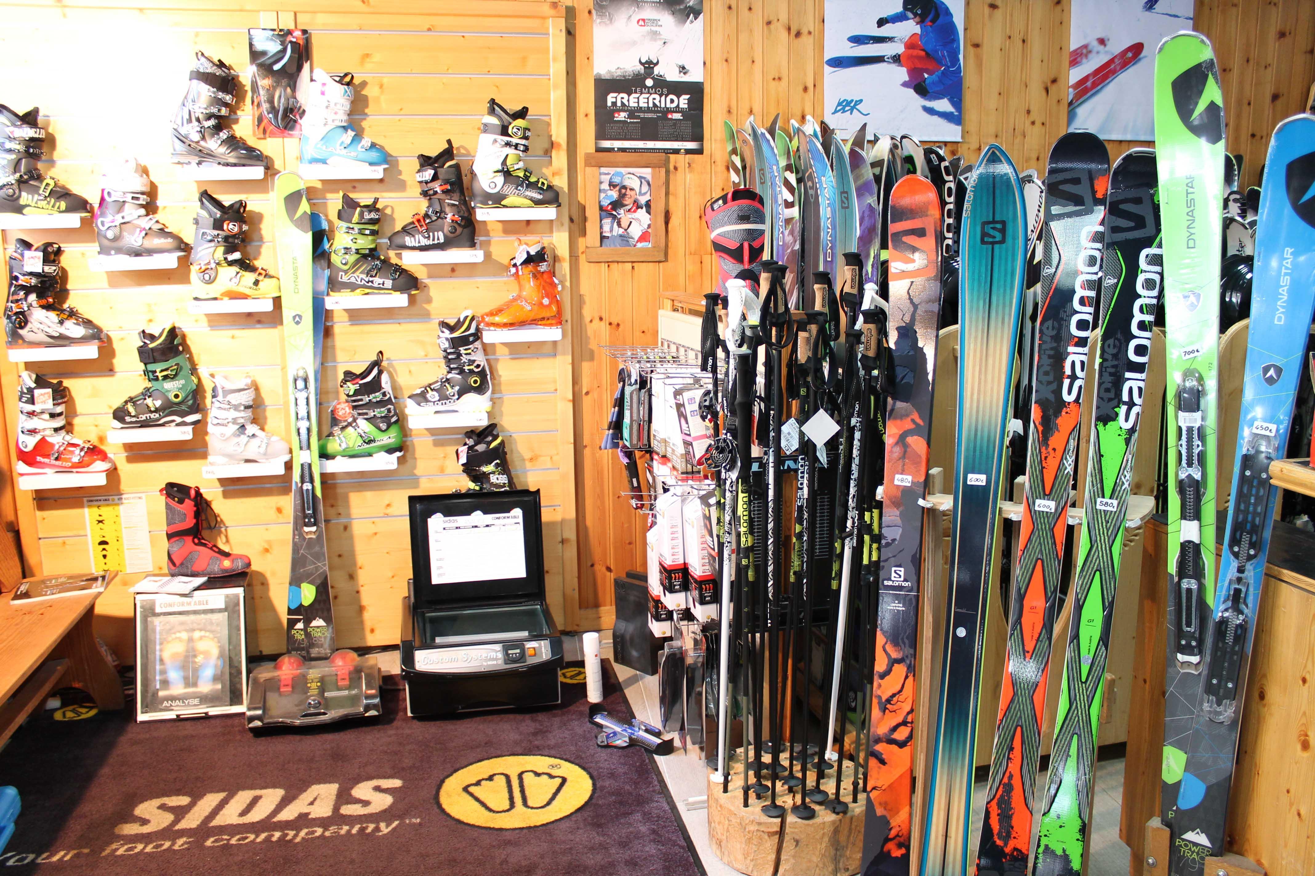 Trouver un magasin de ski avec de bons prix