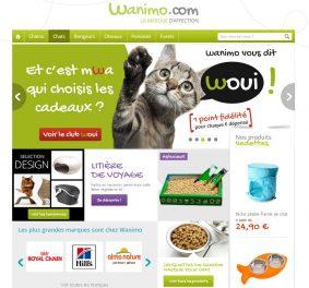 Promo wanimo : des économies sur l'animalerie